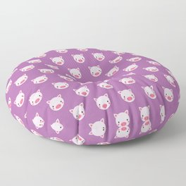 Polly the Pig Pattern Floor Pillow