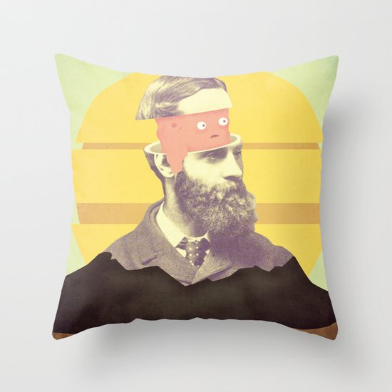 we are creating the future Throw Pillow