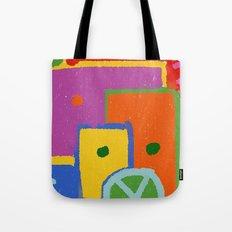 colorful windows Tote Bag