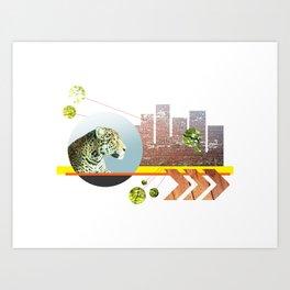 Urban Jungle #3 Art Print