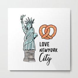 Love New York City Metal Print