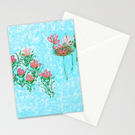 WATER LILYS  (lilies) Stationery Cards