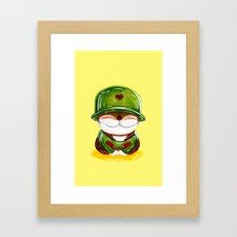 Soldier of Love Framed Art Print