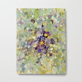 Petals as Paint - Primrose and Petals Metal Print