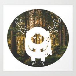 lil deer Art Print