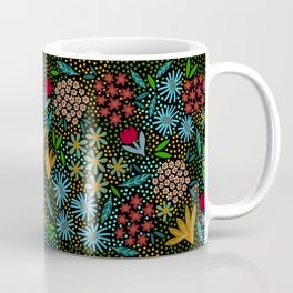 Midnight Garden, folk Coffee Mug