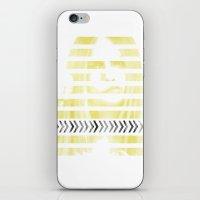 cara delevingne iPhone & iPod Skins featuring Cara Delevingne by Clara J Aira