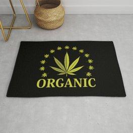 Organic Weed | Cannabis Ganja 420 CBD Gifts Rug