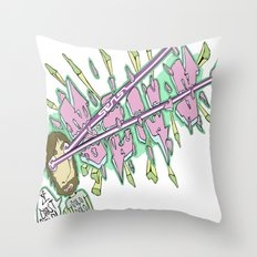 I Can't Stop Throw Pillow