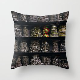 All The Jewels Throw Pillow