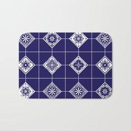 Talavera Mexican Tile – Porcelain Palette Bath Mat