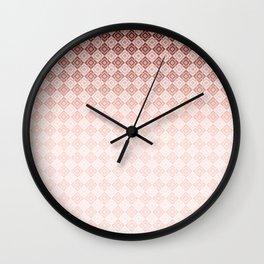 Geometric , gradient , Ombre Wall Clock