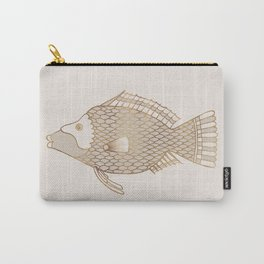 Fantastical Fish 2 - Natural Carry-All Pouch