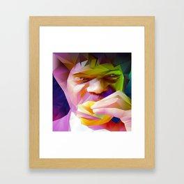 Big Kahuna Burger Framed Art Print
