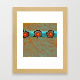 Decorative Abstract Pattern  Framed Art Print