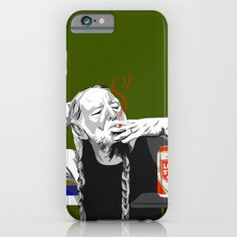 Willie at the Lounge iPhone Case