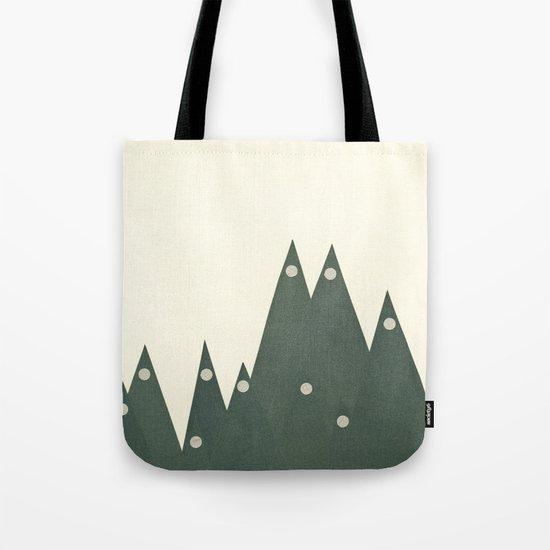 Moonlit Peaks Tote Bag