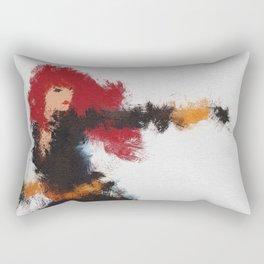 Black Widow Rectangular Pillow