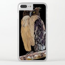 Owl – 230 Clear iPhone Case