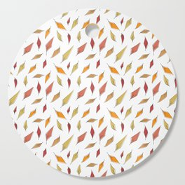 Autumn Leaves Pattern Cutting Board
