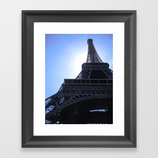 The Eiffel Tower Framed Art Print