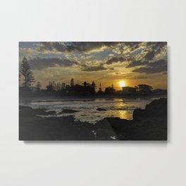 Woolgoolga Sunset Metal Print