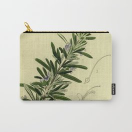 Botanical Rosemary Carry-All Pouch