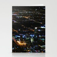 oklahoma Stationery Cards featuring Oklahoma City by Nadege Torrentgeneros