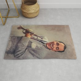 Louis Prima, Music Legend Rug