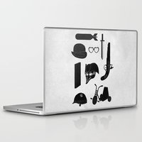 kubrick Laptop & iPad Skins featuring 2011: A Kubrick Odyssey by Florent Bodart / Speakerine