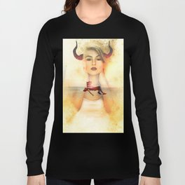 The Devil is in the Box by GEN Z Long Sleeve T-shirt