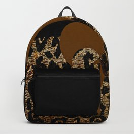 F D L Exotic Animal Print Backpack