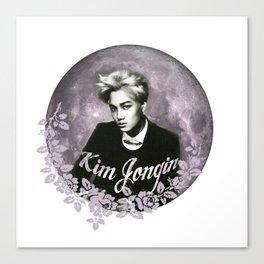 KimJongIn Canvas Print