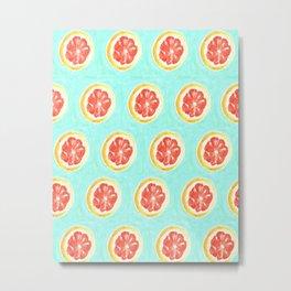 Grapefruit II Metal Print