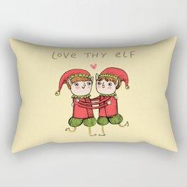 Love Thy Elf Rectangular Pillow