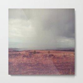 Rain Falling - Kauai, Hawaii Metal Print