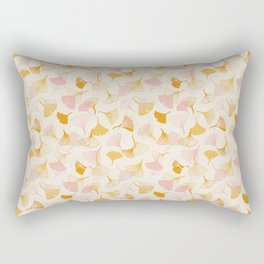Ginko leaf pattern Rectangular Pillow