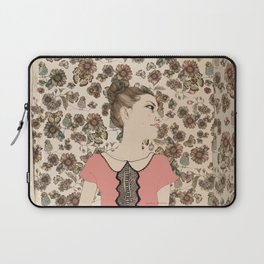 Vintage Girl Laptop Sleeve