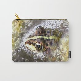 I'm Forever Blowing Bubbles Cute Frog Carry-All Pouch