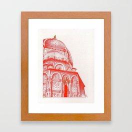 Basilica di Santa Maria del Fiore (Duomo) Framed Art Print