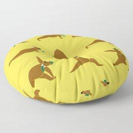 Yoga Bear - Classic Floor Pillow