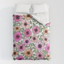 Poppy Pattern Comforters
