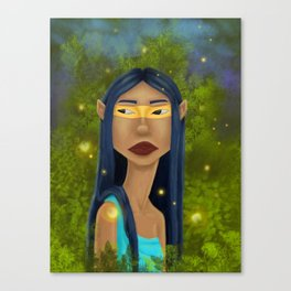Tribal Elf Canvas Print