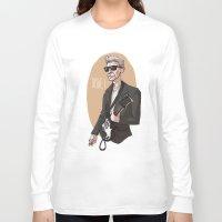 the dude Long Sleeve T-shirts featuring DUDE! by Adrianna Ojrzanowska