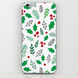 Winter greens iPhone Skin
