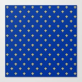 Royal Blue Canvas Print