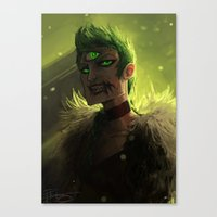 acid Canvas Prints featuring Acid by pearlie