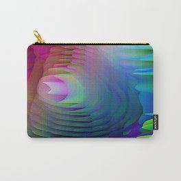 Ribbons of Dancing Rainbows Carry-All Pouch