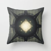 hamlet Throw Pillows featuring Oberon - Hamlet Crater by Fabled Creative