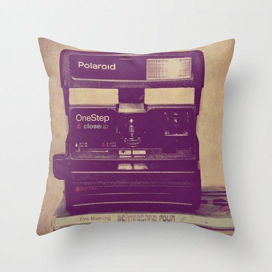 Retro Love Throw Pillow